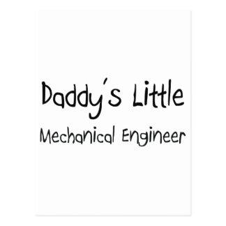 El pequeño ingeniero industrial del papá postal