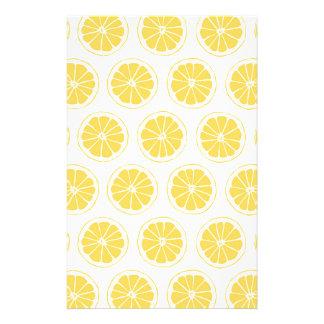 El pequeño limón corta el modelo gráfico papeleria