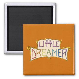El pequeño logotipo del arco iris del soñador imanes de nevera