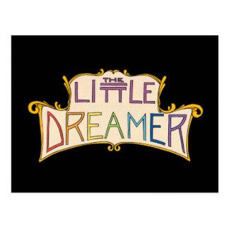 El pequeño logotipo del arco iris del soñador postales