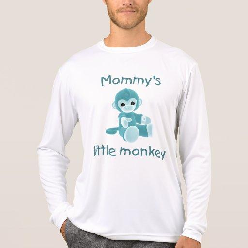 El pequeño mono de la mamá (trullo) camisetas