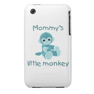 El pequeño mono de la mamá trullo iPhone 3 Case-Mate carcasa