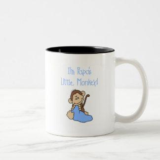 El pequeño mono de la papá - camisetas y regalos a tazas de café