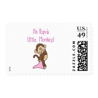 El pequeño mono de la papá - camisetas y regalos envio