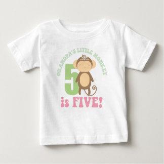 El pequeño mono del abuelo tee shirt