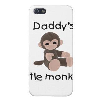 El pequeño mono del papá iPhone 5 funda