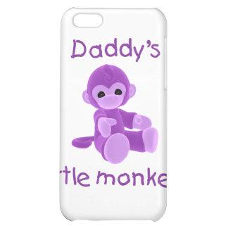 El pequeño mono del papá púrpura
