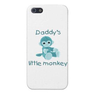 El pequeño mono del papá trullo iPhone 5 protectores