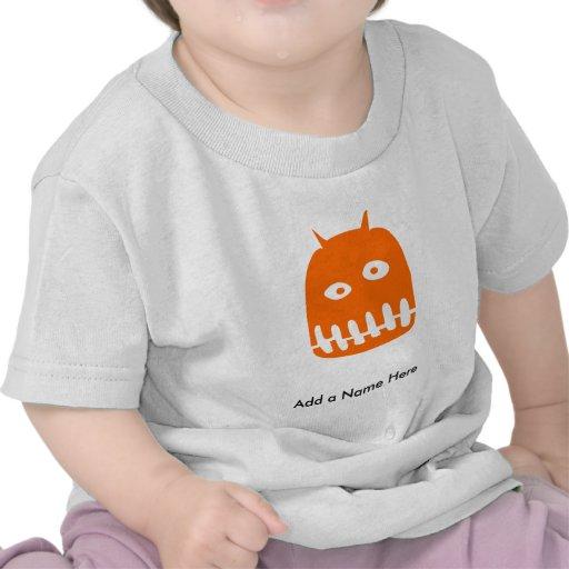 El pequeño monstruo del papá camiseta