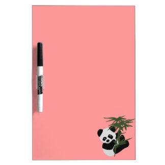 El pequeño panda pizarras blancas de calidad