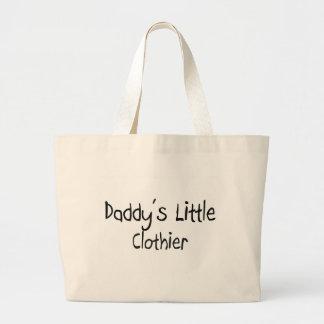 El pequeño panero del papá bolsa de mano