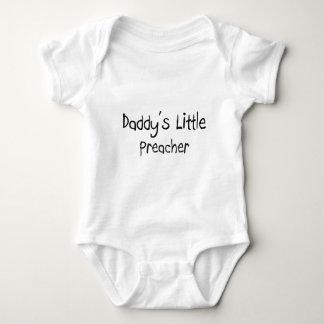 El pequeño predicador del papá body para bebé