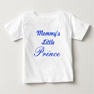 El pequeño príncipe de la mamá playera de bebé
