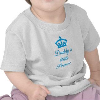 El pequeño príncipe del papá, diseño del texto con camisetas