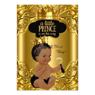 """El pequeño príncipe está en su fiesta de invitación 5"""" x 7"""""""