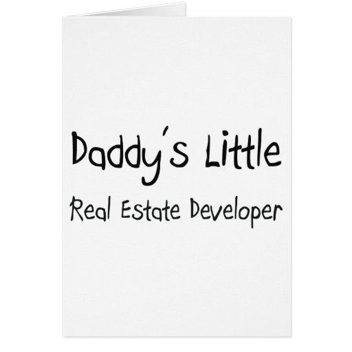 El pequeño promotor inmobiliario del papá tarjetón