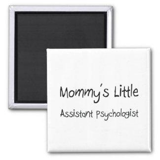 El pequeño psicólogo auxiliar de la mamá imán cuadrado