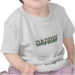El pequeño soldado del papá camiseta