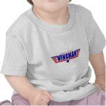 El pequeño Wingman del papá Camiseta