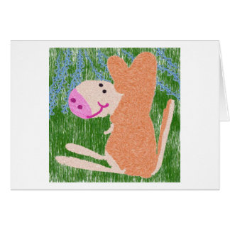 El pequeño Wombat Tarjeta De Felicitación