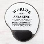 El Percussionist más asombroso del mundo Alfombrillas De Ratón Con Gel