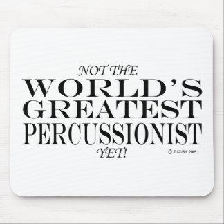 El Percussionist más grande todavía Mouse Pads