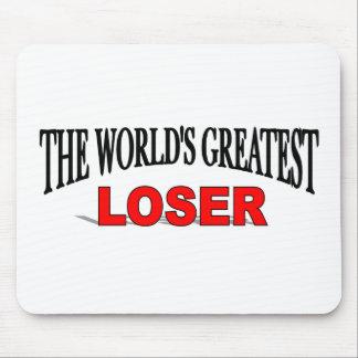 El perdedor más grande del mundo alfombrillas de ratones