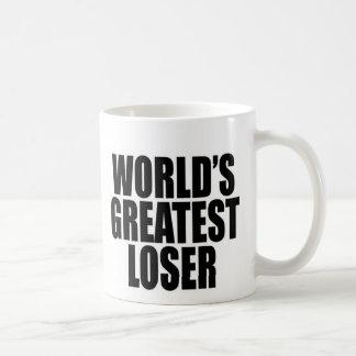El perdedor más grande del mundo tazas