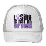 El perder no es el linfoma de un Hodgkin de la opc Gorras