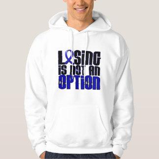 El perder no es un cáncer de colon de la opción sudadera