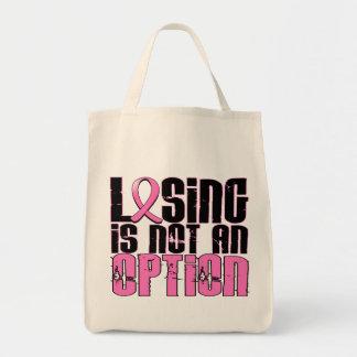 El perder no es un cáncer de pecho de la opción bolsas lienzo
