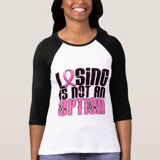 El perder no es un cáncer de pecho de la opción camisetas