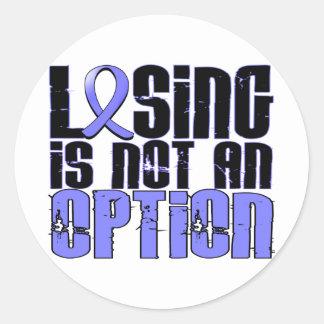 El perder no es un cáncer de próstata de la opción pegatinas redondas