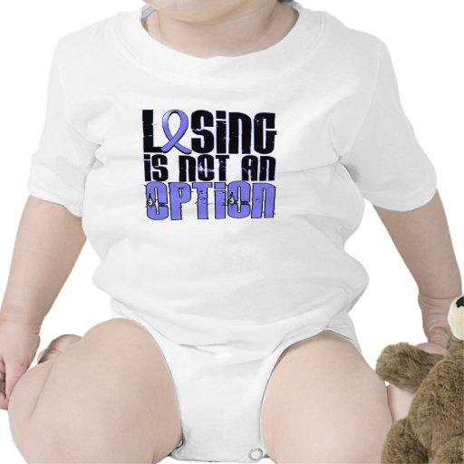 El perder no es un cáncer de próstata de la opción camisetas