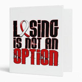 El perder no es un cáncer oral de la opción