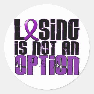 El perder no es un cáncer pancreático de la opción pegatina redonda