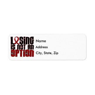El perder no es un mieloma múltiple de la opción etiqueta de remite