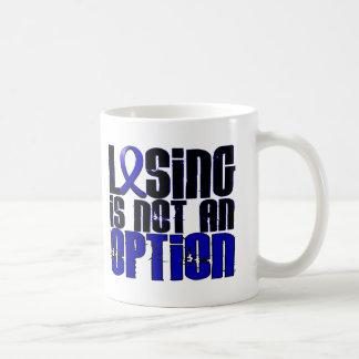 El perder no es una artritis reumatoide de la taza básica blanca