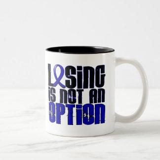 El perder no es una artritis reumatoide de la taza dos tonos