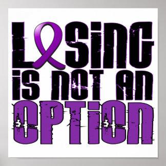 El perder no es una enfermedad de Crohn de la opci Poster