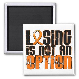 El perder no es una esclerosis múltiple de la imán cuadrado