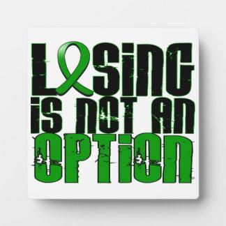 El perder no es una lesión cerebral traumática TBI Placa De Plastico