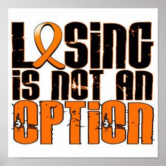 El perder no es una leucemia de la opción poster