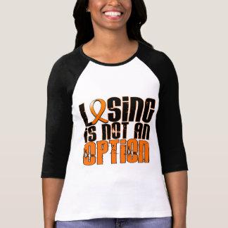 El perder no es una leucemia de la opción camisetas