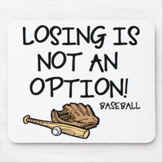¡El perder no es una opción! Alfombrillas De Raton