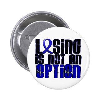 El perder no es una opción Dysautonomia Pin Redondo De 2 Pulgadas