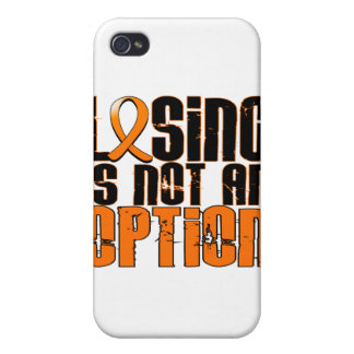 El perder no es una opción RSD iPhone 4/4S Funda