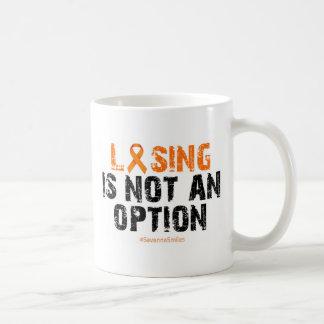 ¡El perder no es una opción! Taza De Café