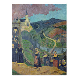 El perdón de Notre-Dama-DES-Portes en Postales