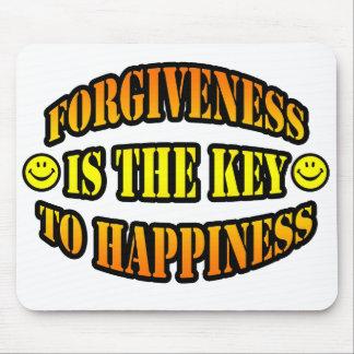 El perdón es la llave a la felicidad alfombrilla de ratón